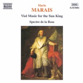 Album artwork for Marin Marais - Viol music for the Sun King