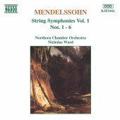 Album artwork for Mendelssohn: String Symphonies Nos. 1-6 (Ward)