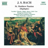 Album artwork for Bach: St. Matthew Passion (Highlights)