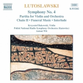 Album artwork for SYMPHONY NO. 4 - Lutoslawski