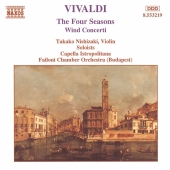 Album artwork for THE FOUR SEASONS & WIND CONCERTI