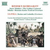 Album artwork for RIMSKY-KORSAKOV - THE GOLDEN COCKEREL