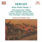 Album artwork for DEBUSSY: PIANO WORKS VOL. 1