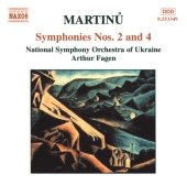 Album artwork for Martinu: SYMPHONIES 2 & 4