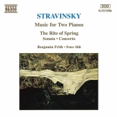 Album artwork for Stravinsky: Music for Two Pianos / Frith, Hill