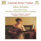 Album artwork for GUITAR RECITAL BY JEFFERY MCFA