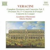 Album artwork for VERACINI : COMPL. OVERTURES AND CONCERTOS, VOL. 2