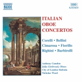 Album artwork for ITALIAN OBOE CONCERTOS