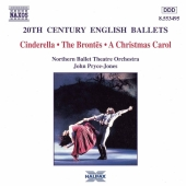 Album artwork for 20TH CENTURY ENGLISH BALLETS: CINDERELLA / THE BRO