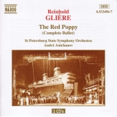 Album artwork for GLIERE: The Red Poppy (Complete Ballet)