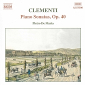 Album artwork for Clementi: Piano Sonatas Op 40 / Pietro De Maria