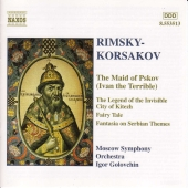 Album artwork for Rimsky-Korsakov: The Maid of Pskov / Golovchin