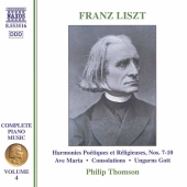 Album artwork for Liszt: Piano Music vol. 4
