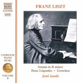Album artwork for Liszt: Complete Piano Music Vol 8 / Jandó