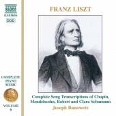 Album artwork for Liszt: Complete Piano Music Vol 6 / Banowetz