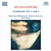 Album artwork for SYMPHONIES NO1 & 2