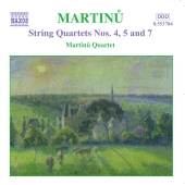 Album artwork for MARTINU: STRING QUARTETS VOLUME 3
