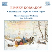 Album artwork for RIMSKY-KORSAKOV: CHRISTMAS EVE, NIGHT ON MOUNT TRI