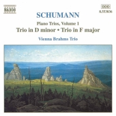Album artwork for Schumann: Piano Trios Vol. 1 - D major / F major