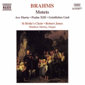 Album artwork for Brahms: Motets - Ave Maria, Psalm XIII... (Jones)