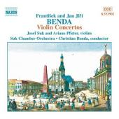 Album artwork for J.J. Benda & F. Benda: Violin Concertos