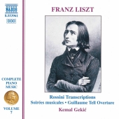 Album artwork for LISZT: COMPLETE PIANO MUSIC, VOL. 7