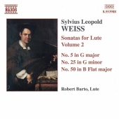 Album artwork for WEISS : SONATAS FOR LUTE, VOLUME 2
