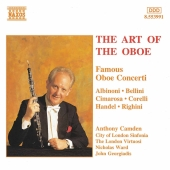 Album artwork for The Art of the Oboe - Famous Concerti / Camden