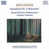 Album artwork for BRUCKNER SYMPHONY NO4