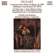 Album artwork for MOZART: CONCERTO FOR FLUTE HARP & ORCH