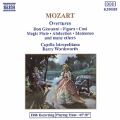 Album artwork for MOZART OVERTURES