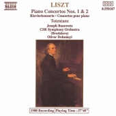 Album artwork for Liszt: PIANO CONCERTOS NOS. 1 & 2