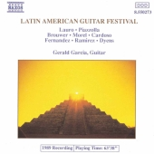 Album artwork for LATIN AMERICAN GUITAR FESTIVAL