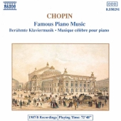 Album artwork for Chopin: Famous Piano Music