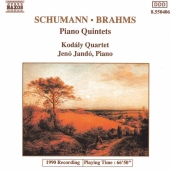 Album artwork for PIANO QUINTETS