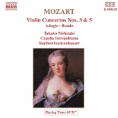 Album artwork for Mozart: Violin Concertos Nos. 3 & 5