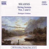 Album artwork for BRAHMS: String Sextets Nos. 1 and 2
