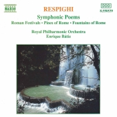 Album artwork for Respighi: SYMPHONIC POEMS