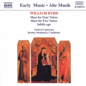 Album artwork for WILLIAM BYRD. MASS FOR FOUR VOICES