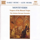 Album artwork for Early Music: Vespers of the Blessed Virgin