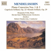 Album artwork for Mendelssohn: Piano Concertos nos. 1 & 2 (Frith)