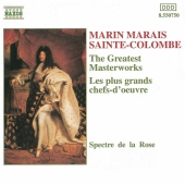 Album artwork for MASTERWORKS OF MARAIS AND SAINT-COLOMBE