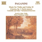 Album artwork for Paganini: Music for Violin and Guitar II