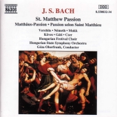 Album artwork for Bach: St. Matthew Passion (Oberfrank)