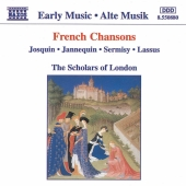 Album artwork for The Scholars of London: French Chansons