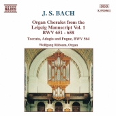 Album artwork for J.S. Bach - Organ Chorales vol.1