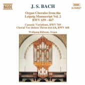 Album artwork for J.S. Bach - Organ Chorales Vol.2