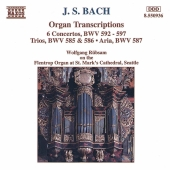 Album artwork for Bach: Organ Transcriptions (Rubsam)