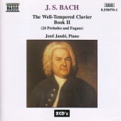 Album artwork for Bach: Well-Tempered Clavier book 2 / Jando
