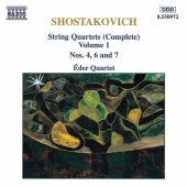 Album artwork for Shostakovich: String Quartets  Vol. 1 Nos. 4, 6,7